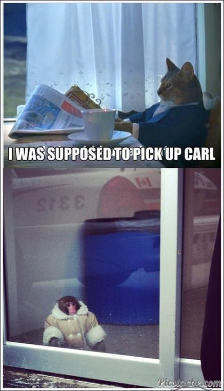 Poor Carl. . I ' UP EARL. RE: post