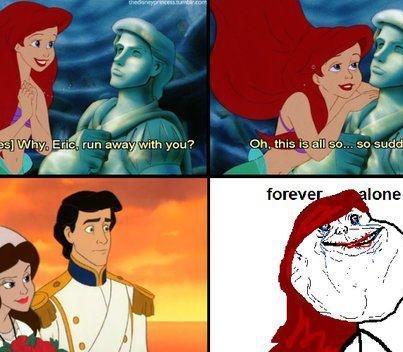 Poor Arielle. Yeah... poor, poor girl. Not OC... Ariel's my Disney crush.