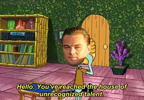 Poor Leo. .
