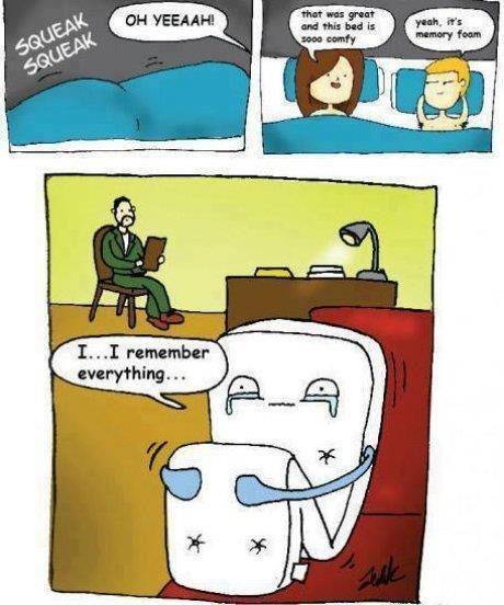 poor mattress. .