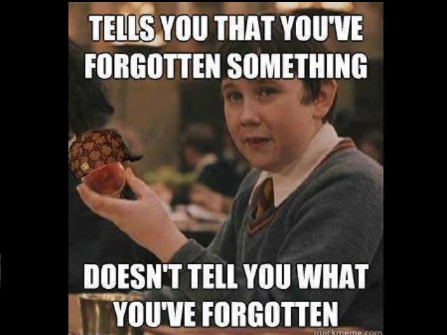 Poor Neville. .