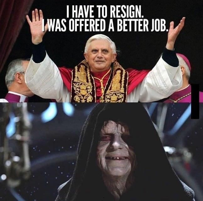 Pope?. Found on FB, so not OC.