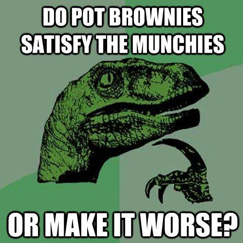 Pot Brownies. OC. Ill] NT SMIRFS THE Mt MAKE IT ? titties are Good