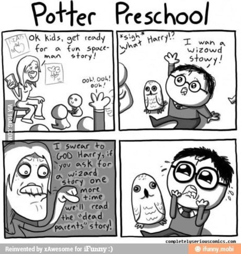 potter pre-school. might be a repost , but idc. harry potter pre school wizard