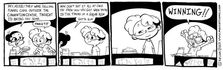 powdered sugar. . THE CARE »