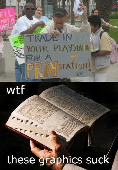 Pray-station 1.0. .. We aready have praystation - Japan