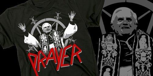 Prayer. .. blasphemy god is a pussy