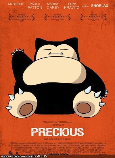 Precious. HAHA <br /> snorlax is totally precious.. PRECIOUS snorlax precious Fat funny black