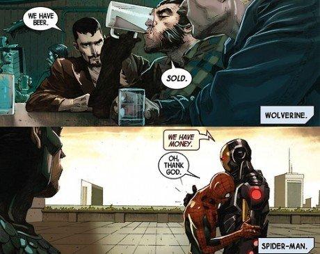 Priorities - Logan knows what's importan. .