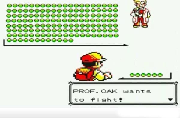 PROF OAK Wants To Fight. .. retoast