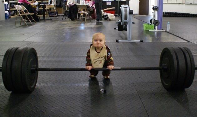 Professional Bodybuilder. . professional bodybuilder lol baby funny