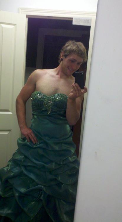Prom Dress. .. I find OP fabulous.