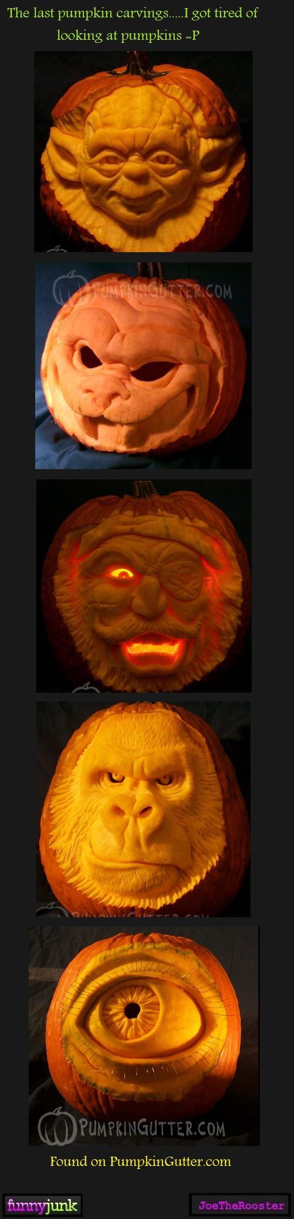 Pumpkin carvings 4. Moar<br /> www.funnyjunk.com/funny_pictures/1116223/Pumpkin+carvings+1/<br /> www.funnyjunk.com/funny_pictures/1116251/Pumpkin+c