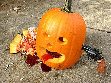 Pumpkin Suicide. .. emo pumpkins tut tut