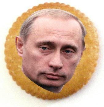Putin on the Ritz. .