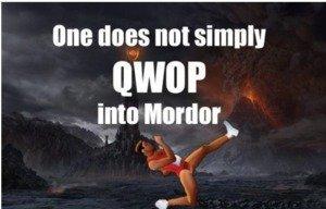 QWOP. Yo dawg spare a thumb www.foddy.net/Athletics.html.. one does not simply qwop full stop