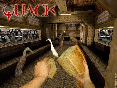 Quack. Quack-quack... 10/10, like Skyrim with ducks.