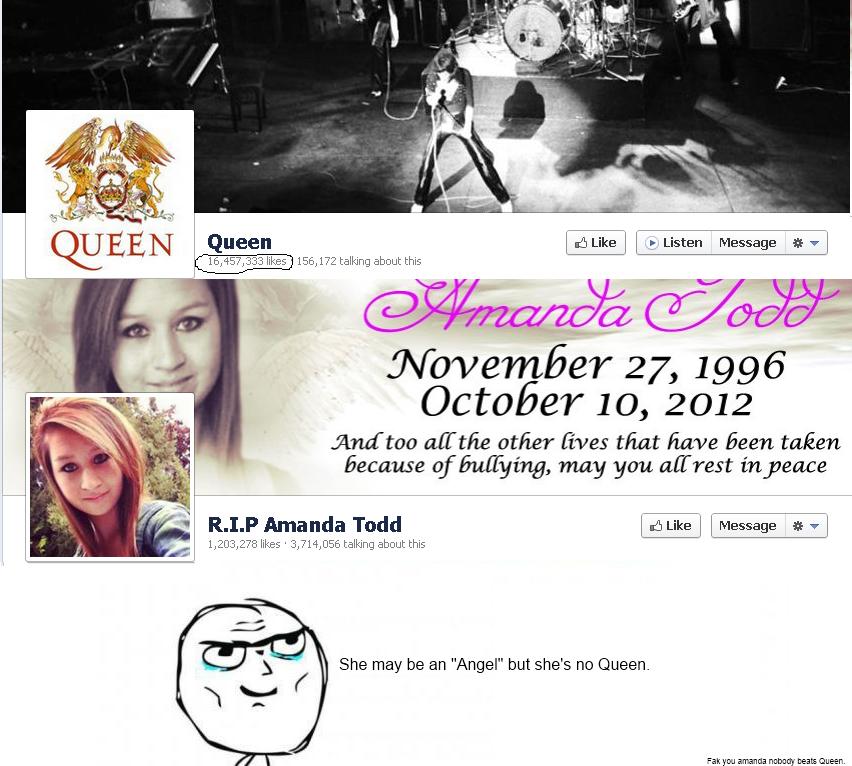 Queen . Nobody beats Queen... i hate it Bleach Amanda lol