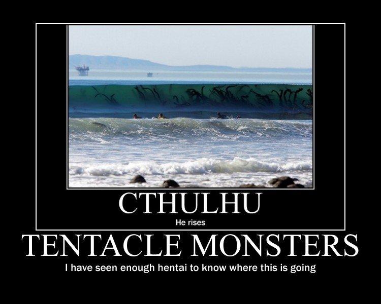R'lyeh. . Cthulhu tentacles