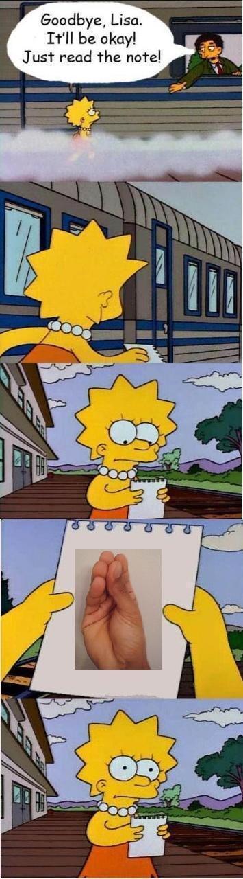 READ. . Goodbye, Lisa. Itll be okay! Just read the natal,. OP USED REPOSTING FAGGOT ITS VERY EFFECTIVE!