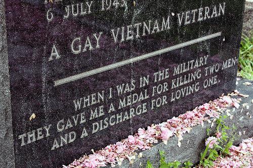 RIP Gay Vietnam Veteran. Feels.. That sounds like a description of a terrible porn.