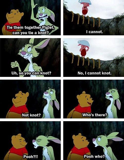 Rabbit Troll. . Tie them ' llort?. t, No, I cannot knot. Not knot?