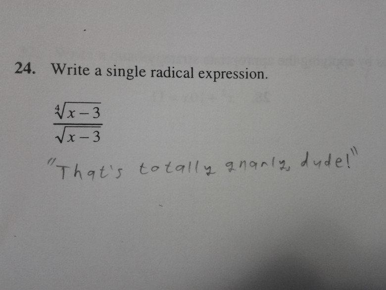 Radical. .