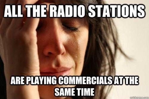Radio stations. . All f' iimm STATIONS ABE m SAME TIME '