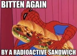 Radioactive Sandwhich. . BITTER