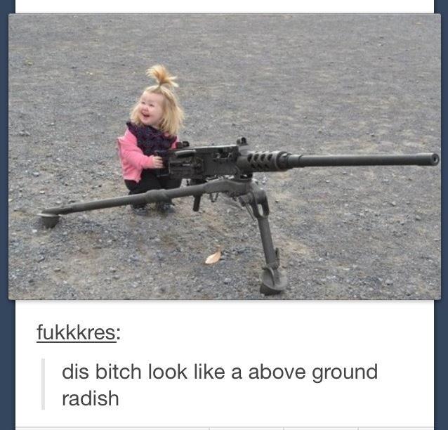 Radish. . dis bitch look like at above ground radish