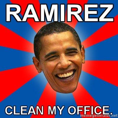 """Ramirez do this. my second post. RAMIREZ 2130'. more like """"Ramirez! Fix the deficit!"""" obama Ramirez oscar mike car lol rawr rofl LMAO osama Makarov ghost Soap price Etc"""