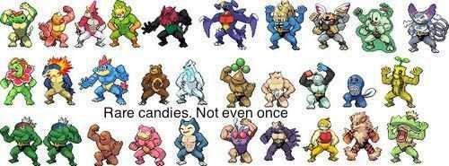Rare Candies. .