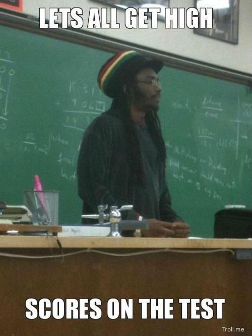 Rasta Teacher. .