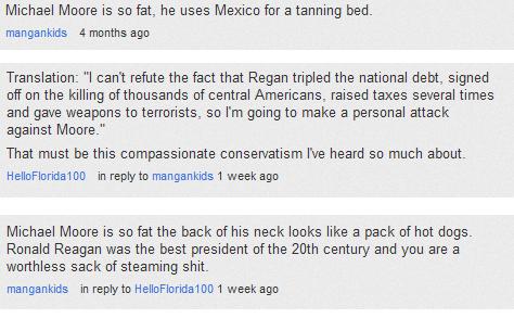 Reaganite argument. .