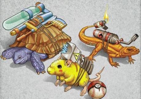 Real life Pokemon. Pokemon by Tiago Möller.. Ponyta