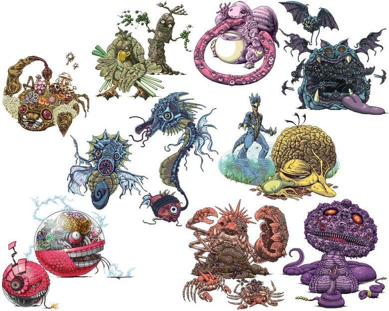 Real pokemon. :3 enjoy.. looks like full body herpes...