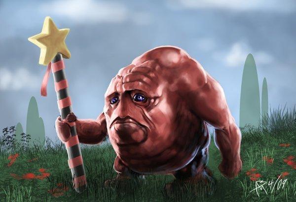 Realistic Kirby. More like Nightmare land Source: .