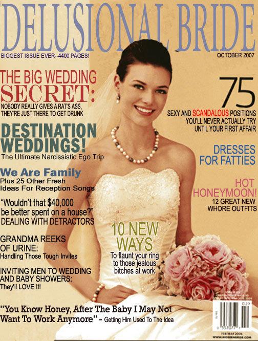 "Realistic woman's magazine. . BIGGEST JOEE PAGES! THE BIG WEDDING The Ultimate iii' - "" Fai? ) We Are Fa In ' Plus 25 umber Frey. , HOT F HONEYMOON! GRANDMA _ l"