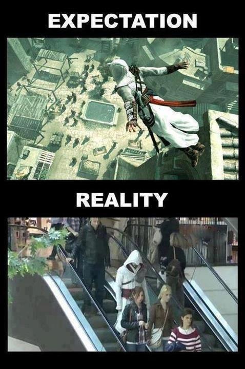 reality sucks. .