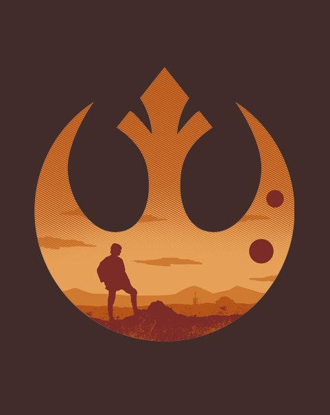 Rebel Alliance. .. Rebel scum.