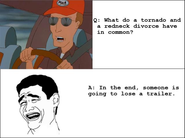 Redneck Divorce. .