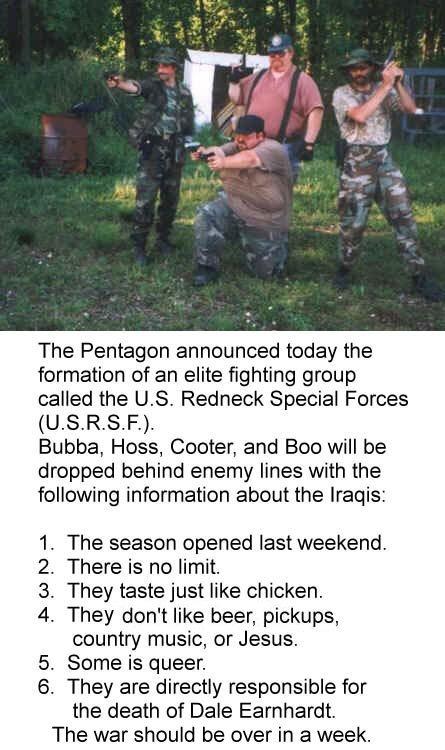 Redneck Militia. .