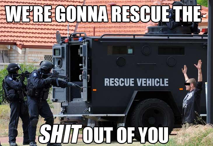 Rescue Vehicle. .