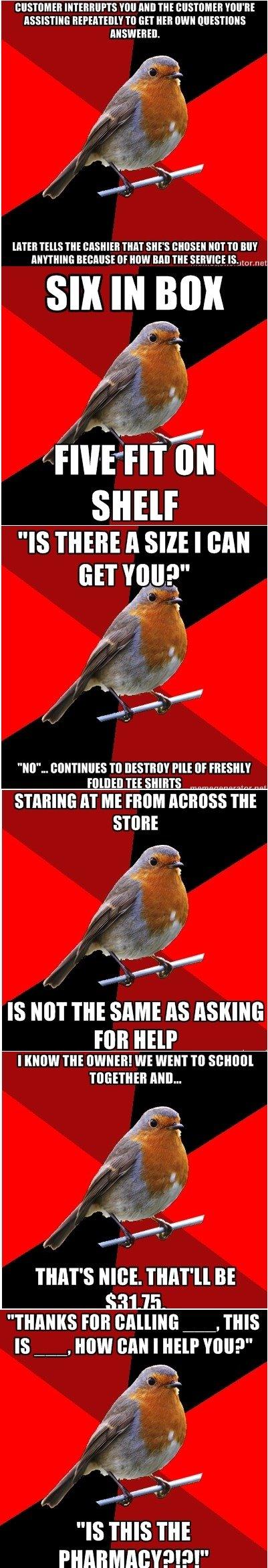 "Retail Robin comp, pt 2. Here's the first one: funnyjunk.com/funny_pictures/3912163/Retail+Robin+Comp+pt1/. INN AHI] m I' VIII' HE IIEK' "" TI] EH NEH WIN BITTEH"