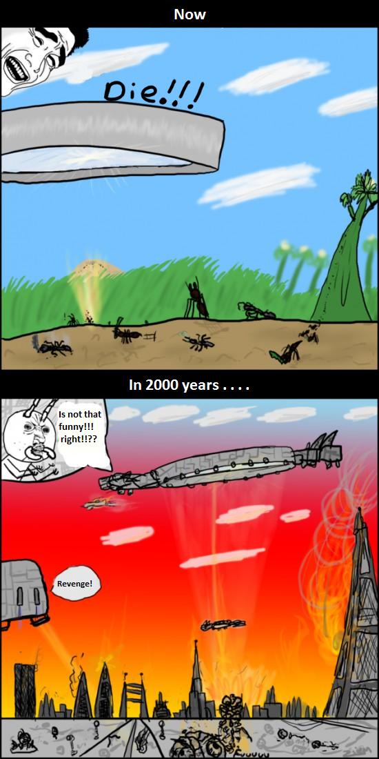 Revenge . . . sweet revenge . . .. As seen on cuantocabron.com. Now. 2000 Years xD OP: How do I evolution?