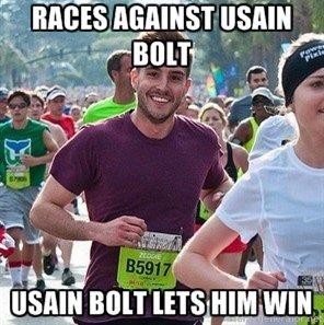Ridiculously Photogenic Guy V. Bolt. . tlr. I I