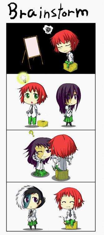 Rin has an Idea. .