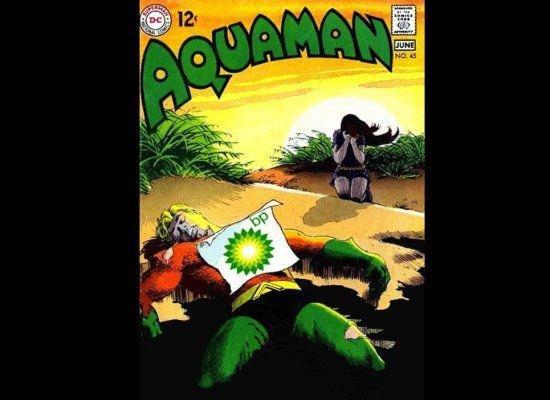 R.I.P aquaman. 100% not mine.