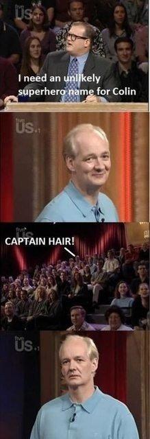 RIP colins hair. .