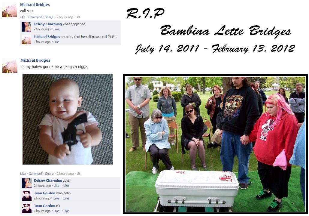 RIP. Found of 4chan YRYL. Michael Bridges Micha Bridges my baby shot herself please all 911! l l mi 2 hours ago . Like Michael Bridges i I / my Llama gonna be a Zac is a faggot